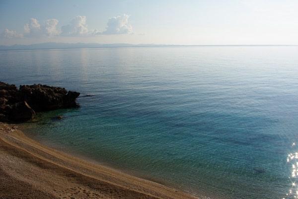 Borak Beach on Peljesac peninsula