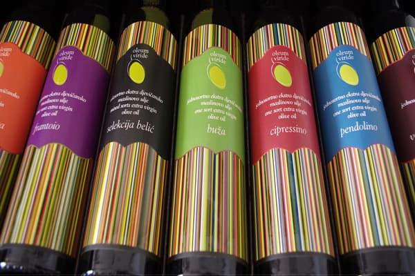 olive oil tasting in istria