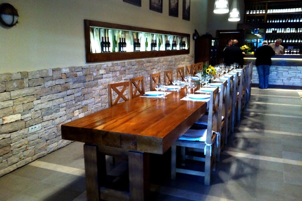 Tasting Room at Agrolaguna in Porec