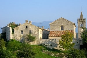 Hum, the smallest town in Istria