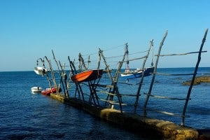 Hanging Boats in Savudrija, Istria