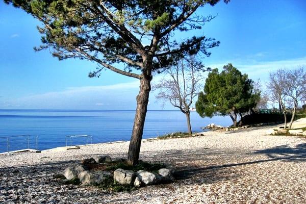 Beach Romana in Camping Lanterna