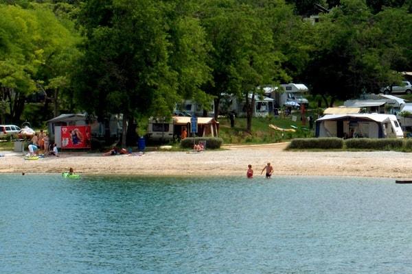 Beach Valeta, Camping Lanterna