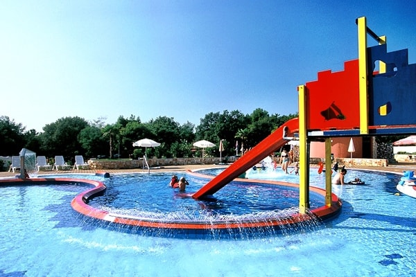 Children Swimming Pool in Camping Lanterna
