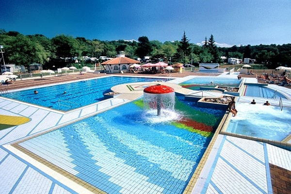 Swimming Pool in Camping Lanterna