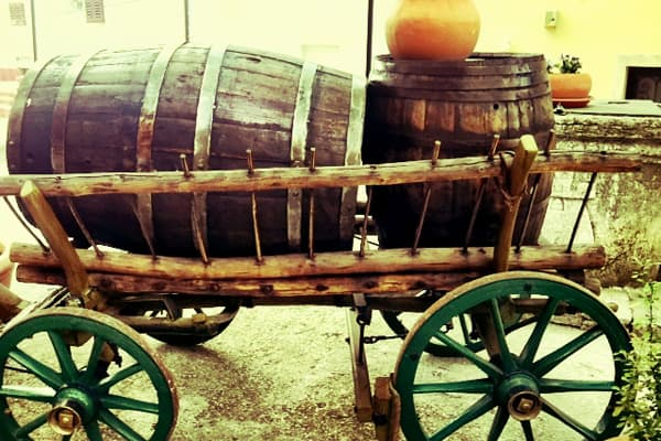 Old Carriage in Motovun, Istria