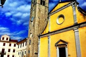 Parish Church of St. Stephen in Motovun, Istria