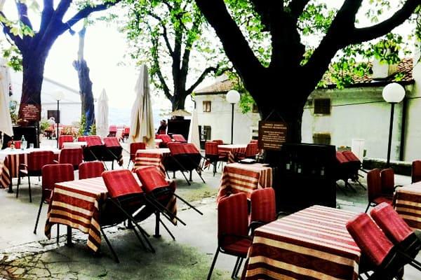 Restaurant Hotel Kastel in Motovun Istria