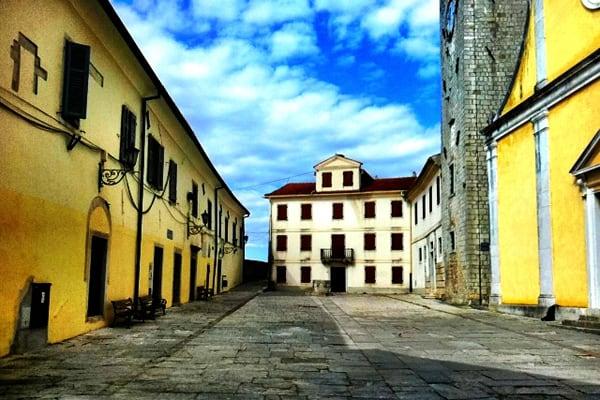 Motovun, Istria: Main Squarw