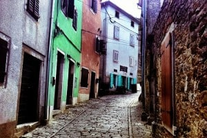 Streets of Motovun, Istria