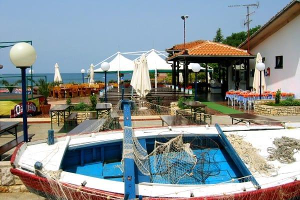 Restaurant Adria in Camping Lanterna