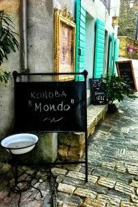 Restaurant Mondo in Motovun, Istria