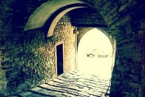 Vaulted Passage in Motovun, Istria