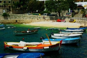 Harbour in Rabac, Istria