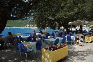 Seafront Terrace in Rabac, Istria