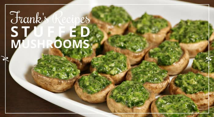 Stuffed Mushrooms Recipe | My Croatian Food & Other Recipes