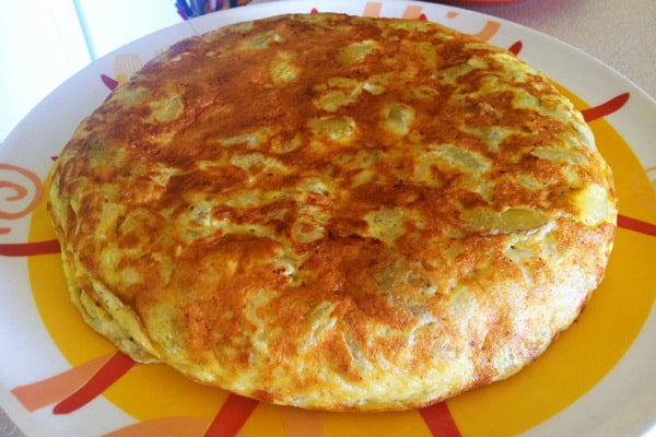 Spanish Omelette Recipe - Spanish Tortilla Recipe