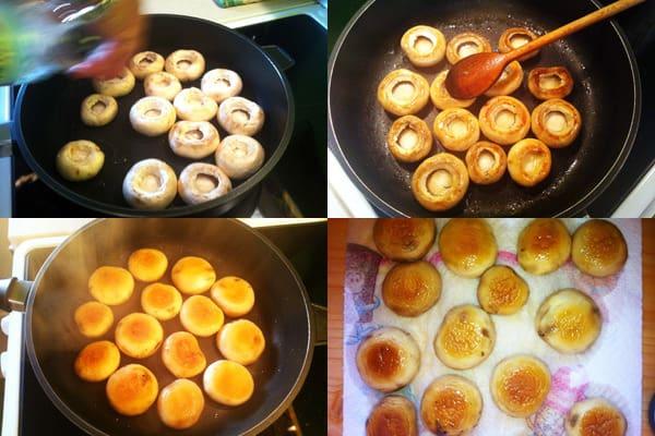 Stuffed Mushrooms Recipe - Preparing Your Mushrooms