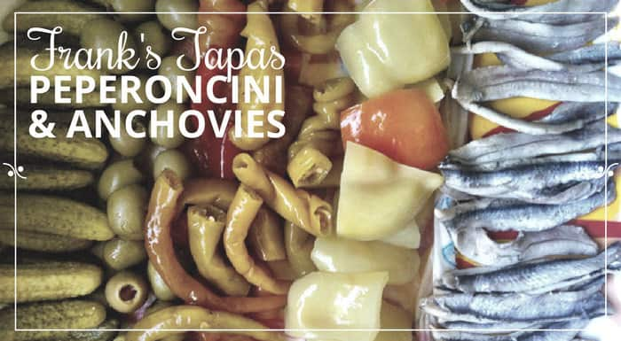 Peperoncini-Anchovies Tapas | My Croatian Food & Other Recipes
