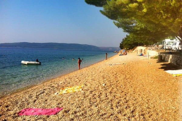 Camping Dole Zivogosce Beach