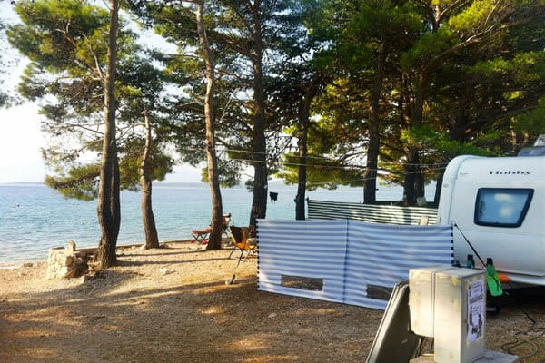 Camping Dole Makarska Pitches