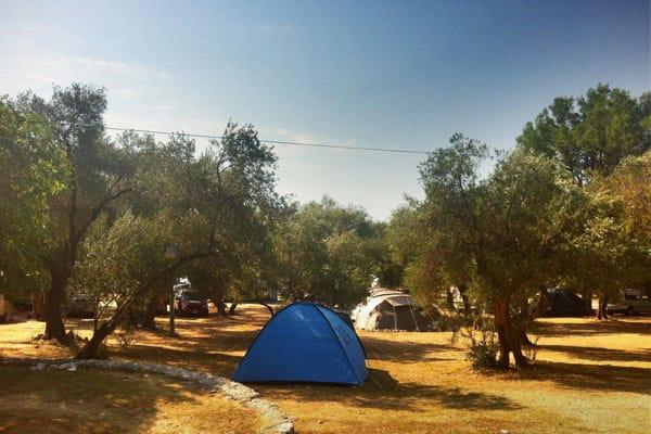 Camping Dole Zivogosce Camping Units