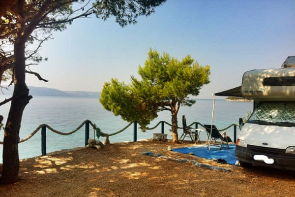 Camping Male Ciste Makarska Waterfront Pitches
