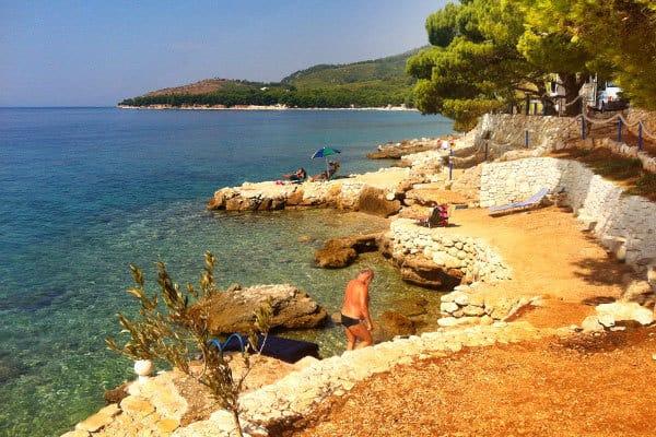 Camping Male Ciste Makarska Beach