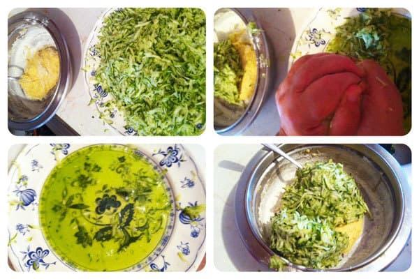 Zucchini Fritters Recipe: Step Two