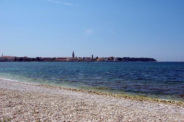 Beach at Hotel Pical Porec