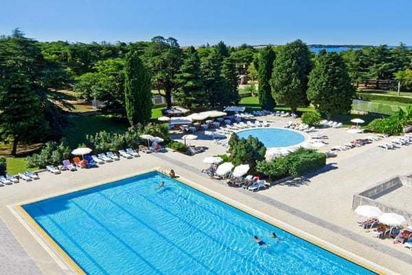 Hotel Pical Porec Pool Area