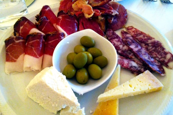 Istrian dishes: Cold Cuts