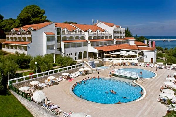 Hotel Fortuna Porec Pool Area
