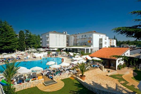 Hotel Valamar Pinia Porec Pool Area