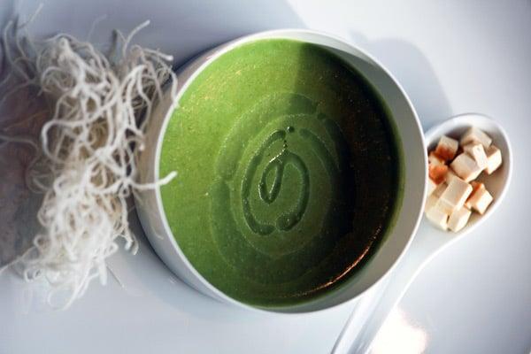 Hotel Lone Restaurant L Rovinj - Spinach Cream Soup