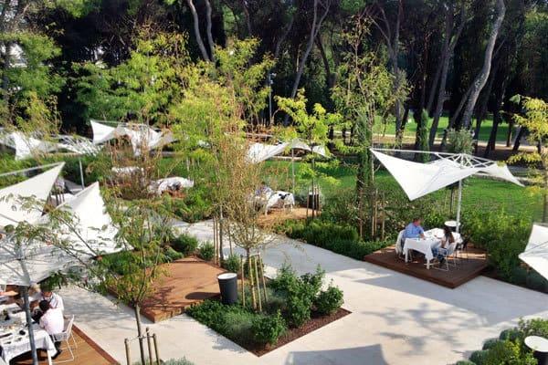 Hotel Lone Restaurant L Rovinj - Terrace
