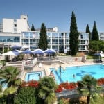Hotel Zorna Porec Pool Area