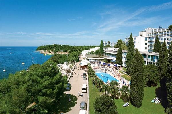 Hotel Zorna Porec Location