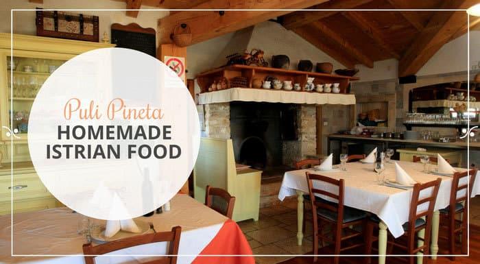 Restaurant Puli Pineta Zminj Croatia | Croatia Restaurant Guide