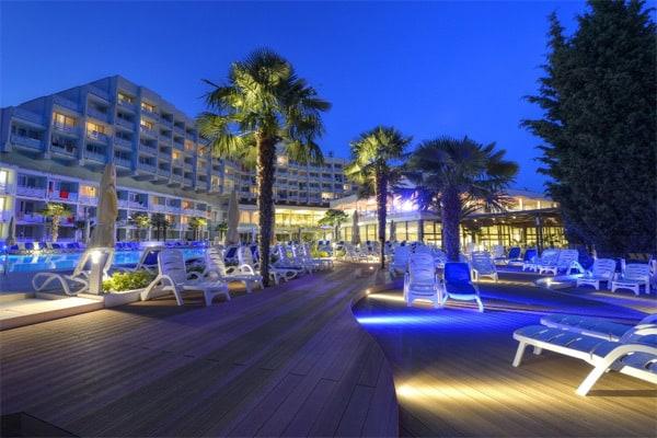Hotel Laguna Materada Porec Pool Area