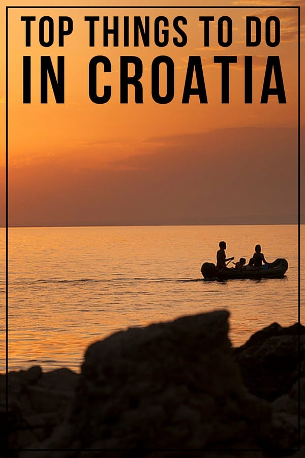 Things To Do In Croatia | Pin Me For Later!