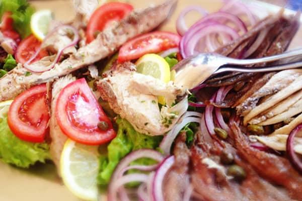 Konavle: Tavern Monkovic - Marinated fish