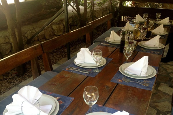 Konavle: Tavern Monkovic - dining al fresco