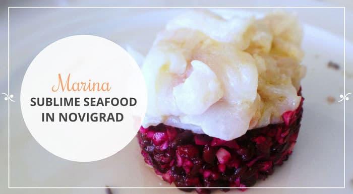 Restaurant Marina Novigrad Croatia | Croatia Restaurant Guide