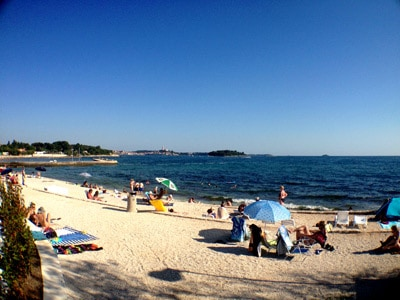 Resort Amarin Rovinj - Pebble Beach