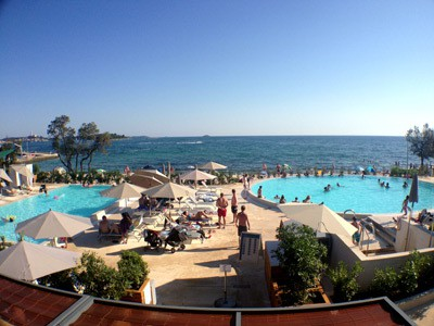Resort Amarin Rovinj - Pool area