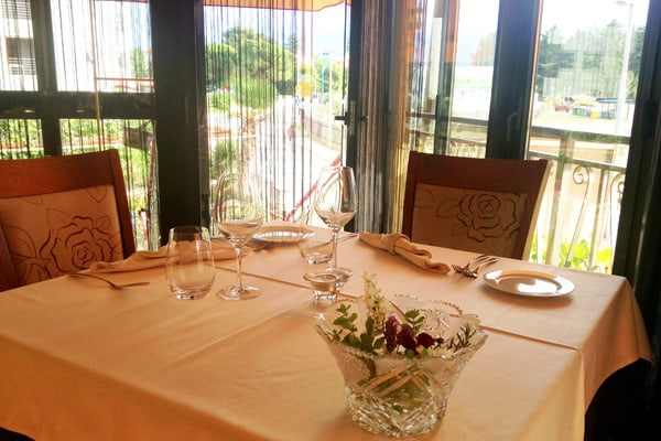 Restaurant Marina Novigrad - table setting