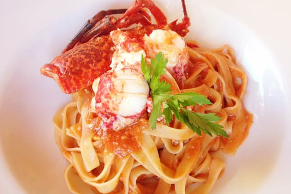 Tavern Cok Novigrad - Tagliatelle with Lobster