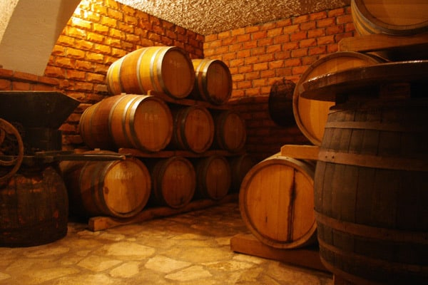 Istrian Wines: Wine cellar