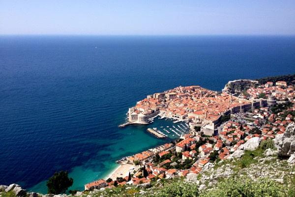 Dubrovnik region: Old town Dubrovnik